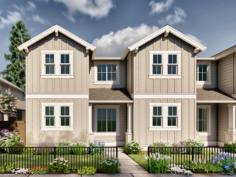 Parkside townhome